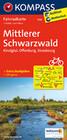 Mittlerer Schwarzwald - Kinzigtal - Offenburg - Strasbourg 1:70000