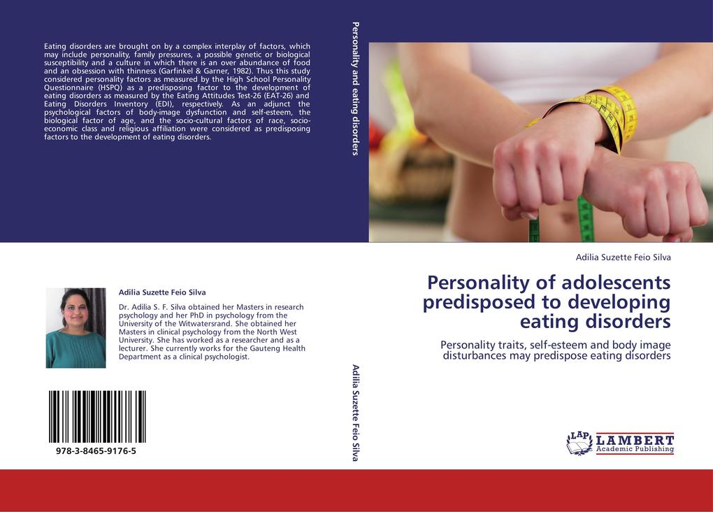 Personality of adolescents predisposed to developing eating disorders als Buch