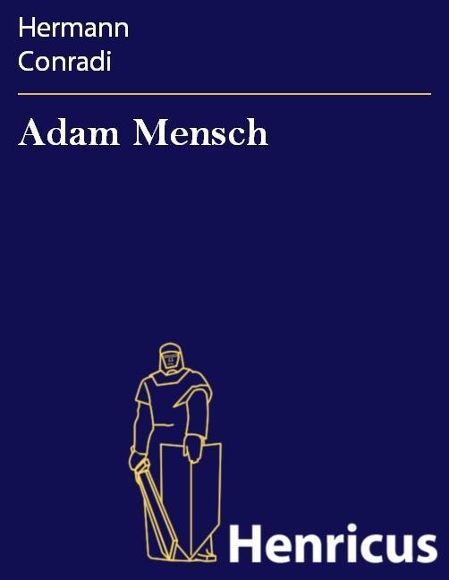 Adam Mensch als eBook
