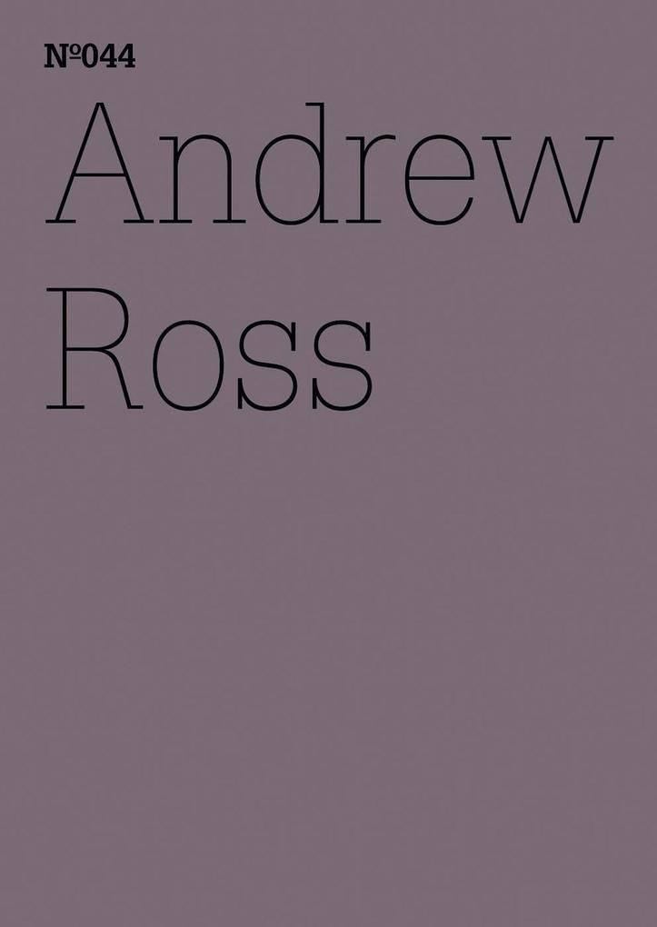 Andrew Ross als eBook