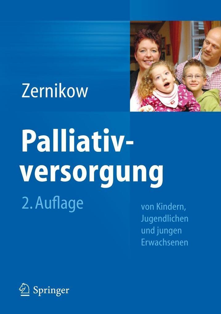 Palliativversorgung von Kindern, Jugendlichen und jungen Erwachsenen als Buch