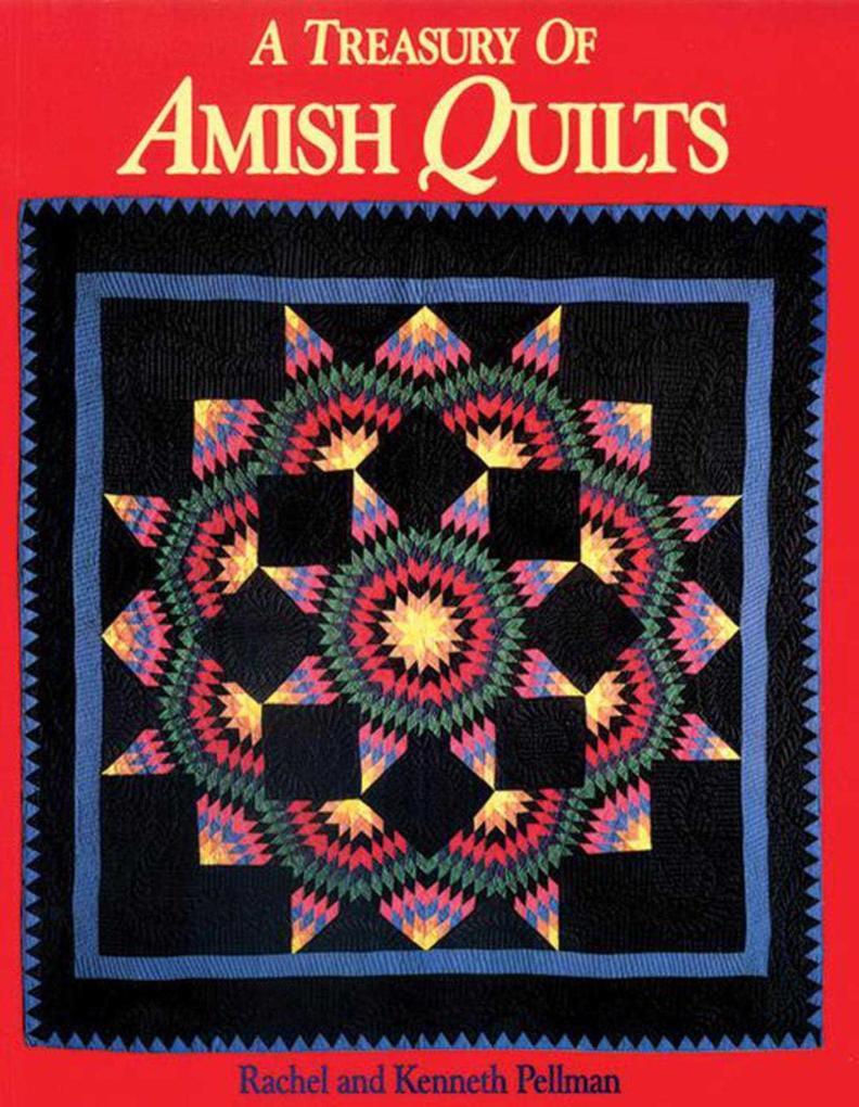 Treasury of Amish Quilts als Taschenbuch