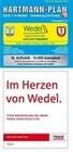 HARTMANN-PLAN Wedel und Haseldorf, 1:25.000 Stadtplan und Amtsplan