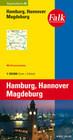 Falk Regionalkarte 05. Hamburg, Hannover, Magdeburg. 1 : 150 000