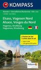 Elsass - Vogesen Nord - Alsace - Vosges du Nord 1 : 50 000