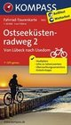 Ostseeküstenradweg 2 - von Lübeck nach Usedom 1 : 50 000