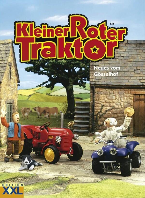 Kleiner Roter Traktor als Buch