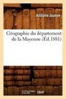 Geographie Du Departement de La Mayenne (Ed.1881)