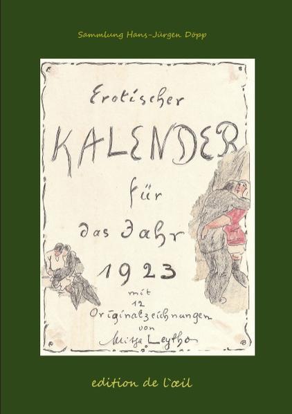 Mitja Leytho Erotischer Kalender 1923 als Buch