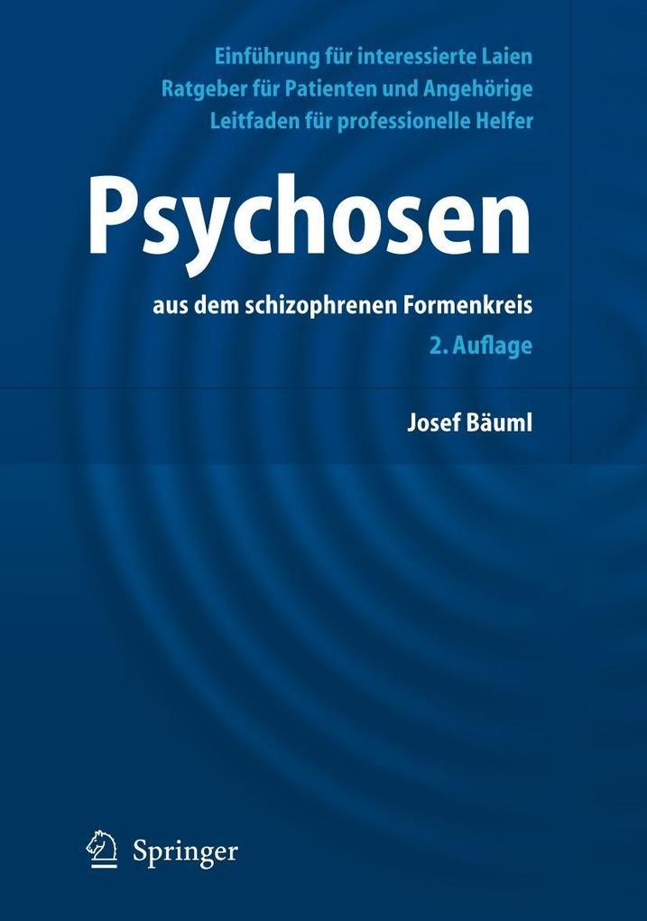 Psychosen aus dem schizophrenen Formenkreis als Buch