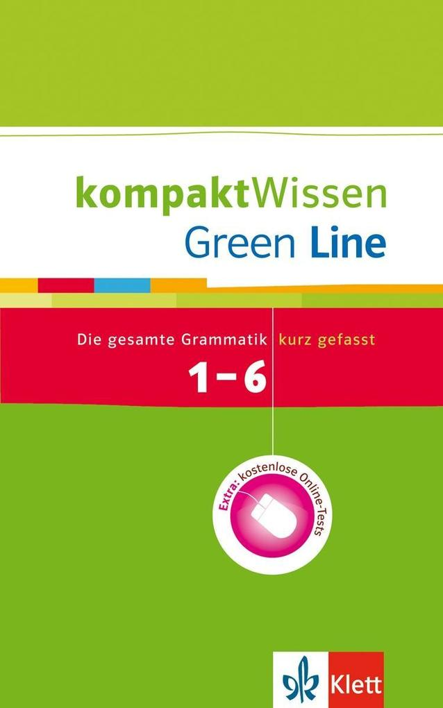 Green Line 1-6. Grammatik. Kompakt Wissen als Buch