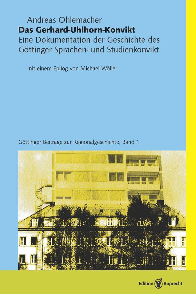 Das Gerhard-Uhlhorn-Konvikt als eBook