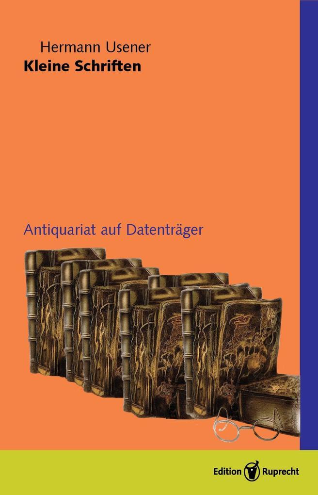 Kleine Schriften, Band 1 und 2 als eBook