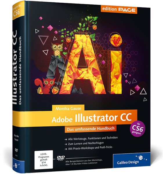 Adobe Illustrator CC als Buch
