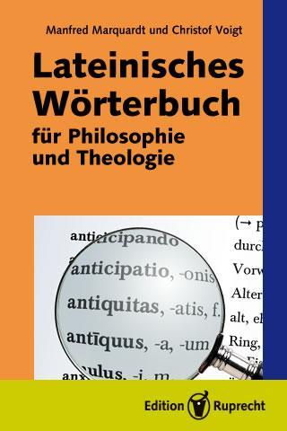 Lateinisches Wörterbuch für Philosophie und Theologie als eBook