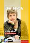 Klartext 6. Arbeitsheft mit Lösungen: plus CD-ROM. Ausgabe Südwest