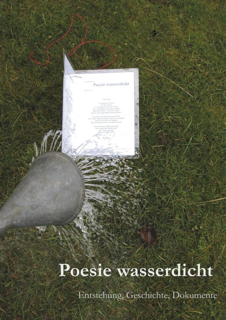 Poesie wasserdicht Taschenbuchausgabe als eBook