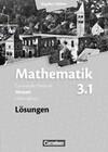 Band 3.1: Leistungskurs - 3. Halbjahr - Lösungen zum Schülerbuch