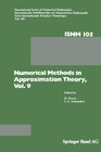 Numerical Methods in Approximation Theory, Vol. 9