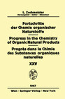 Progress in the Chemistry of Organic Natural Products / Fortschritte der Chemie Organischer Naturstoffe / Progrès dans la Chimie des Substances Organiques Naturelles