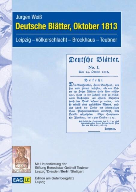 Deutsche Blätter, Oktober 1813 als Buch