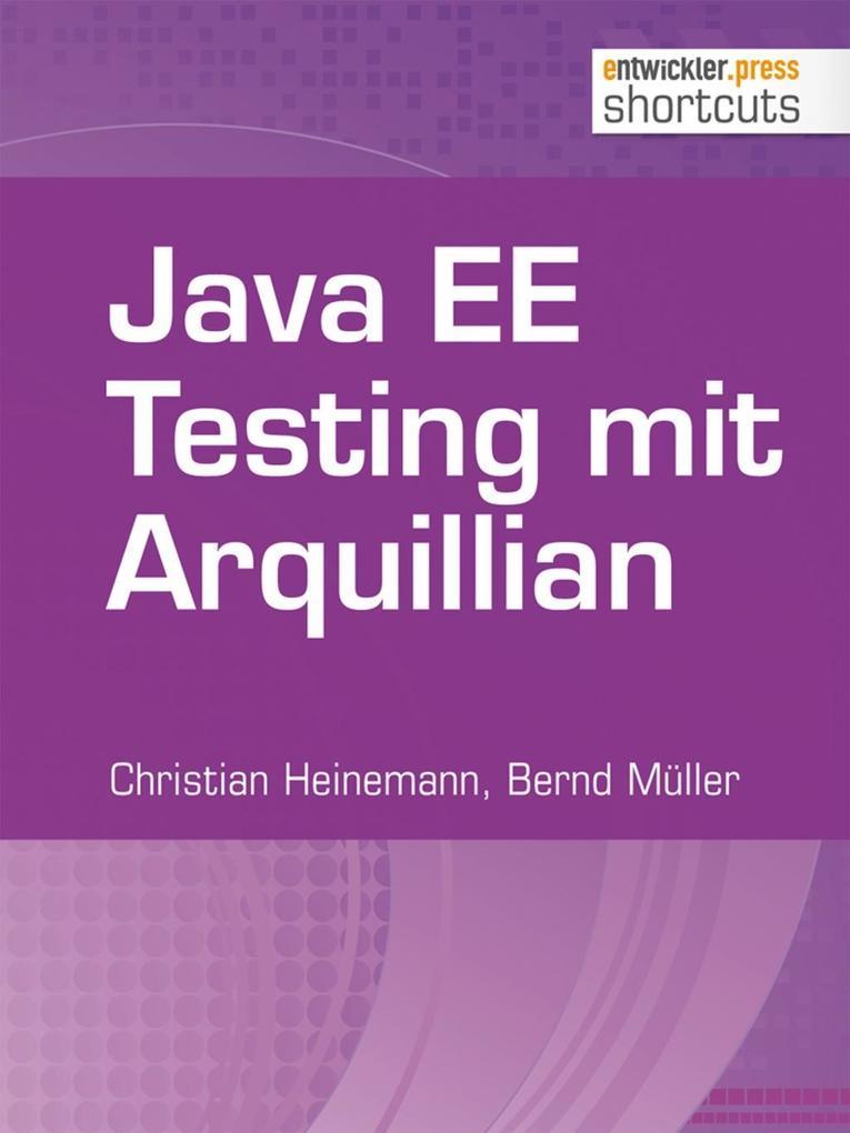 Java EE Testing mit Arquillian als eBook
