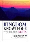 Kingdom Knowledge Notes: A Note-Taking Journal for the Holy Bible