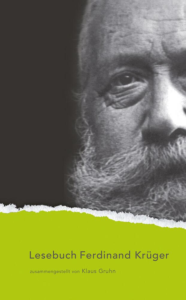 Lesebuch Ferdinand Krüger als Buch