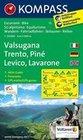Valsugana - Trento - Piné - Levico - Lavarone 1 : 50 000