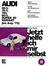 Audi 60/L 72/L 75/L 80/L Super 90 / Variant bis August '72