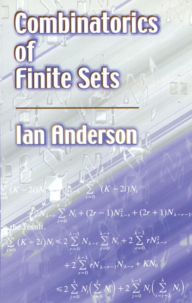 Combinatorics of Finite Sets als eBook