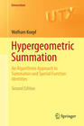 Hypergeometric Summation