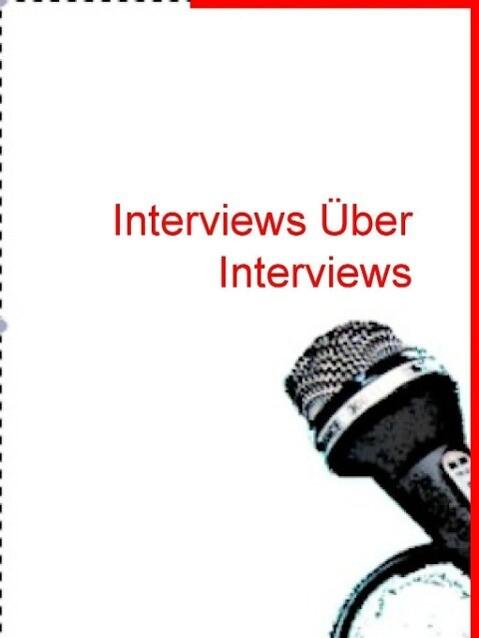 Interviews über Interviews als eBook