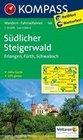 Südlicher Steigerwald - Erlangen - Fürth - Schwabach 1 : 50 000