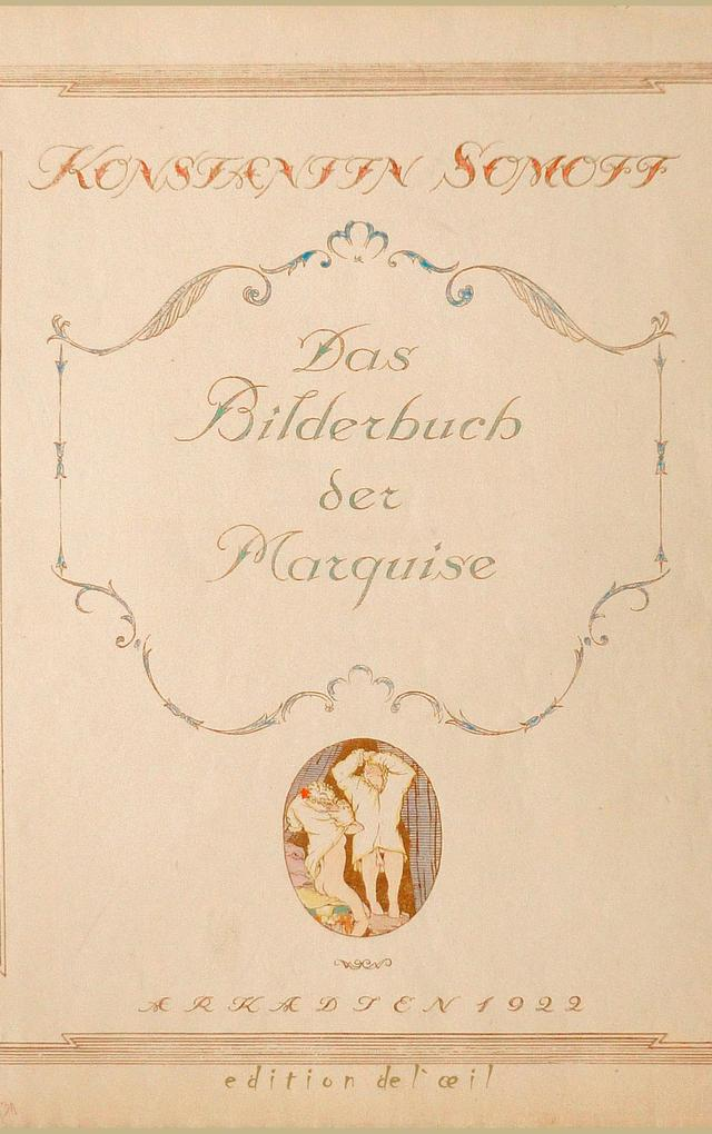 Das Bilderbuch der Marquise als Buch