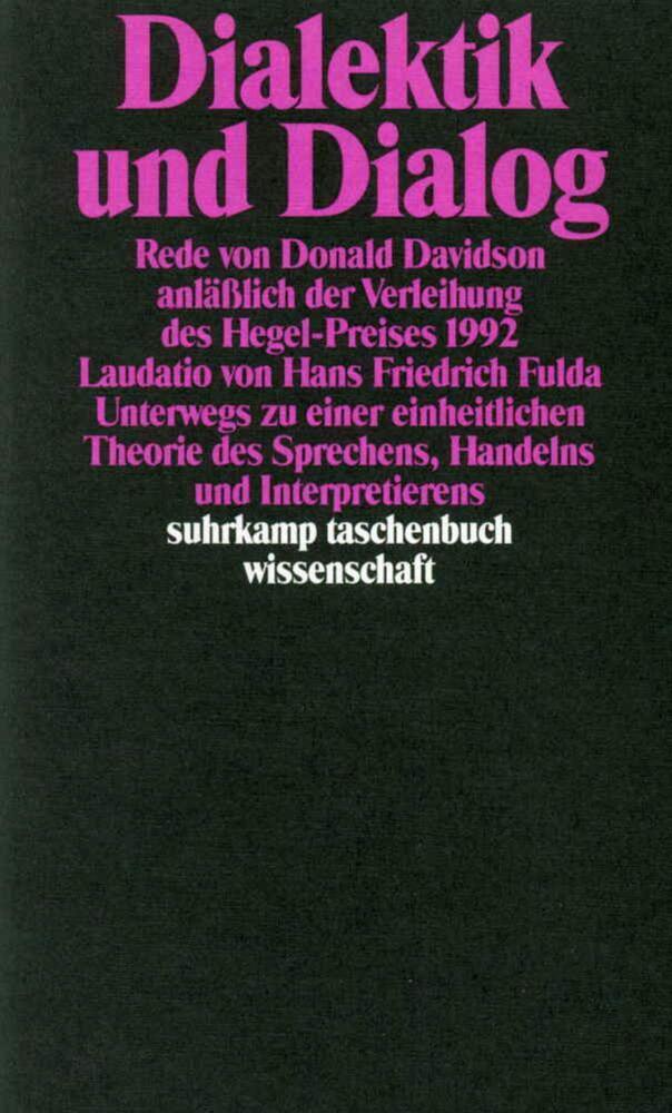 Dialektik und Dialog als Taschenbuch