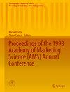 Proceedings of the 1993 Academy of Marketing Science (AMS) Annual Conference