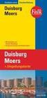 Falk Stadtplan Extra Standardfaltung Duisburg