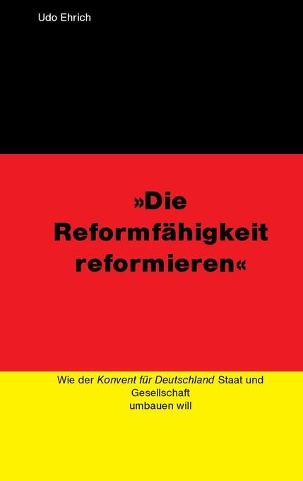 Die Reformfähigkeit reformieren als Buch