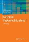 Frick/Knöll Baukonstruktionslehre 1