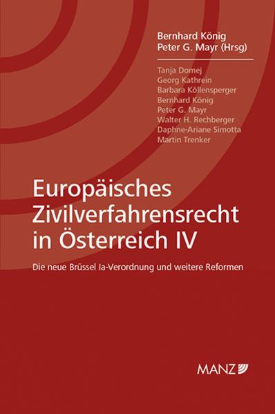 Europäisches Zivilverfahrensrecht in Österreich IV als Buch