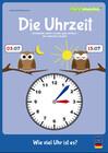 mindmemo Lernfolder - Die Uhrzeit - Grundschule - Zusammenfassung