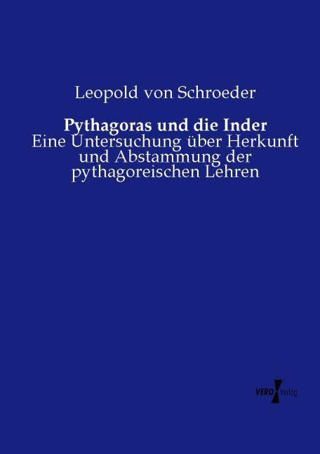 Pythagoras und die Inder als Buch