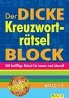 Der dicke Kreuzworträtsel-Block Band 19