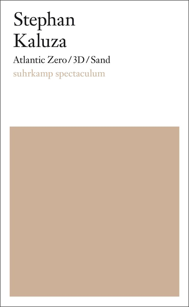 Atlantic Zero/3D/Sand als eBook