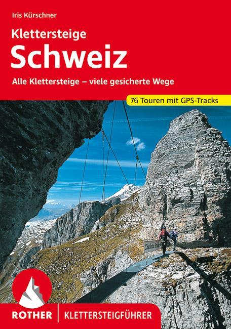 Klettersteige Schweiz als Buch