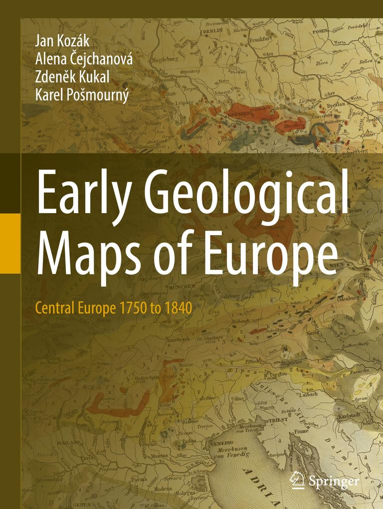 Early Geological Maps of Europe als Buch