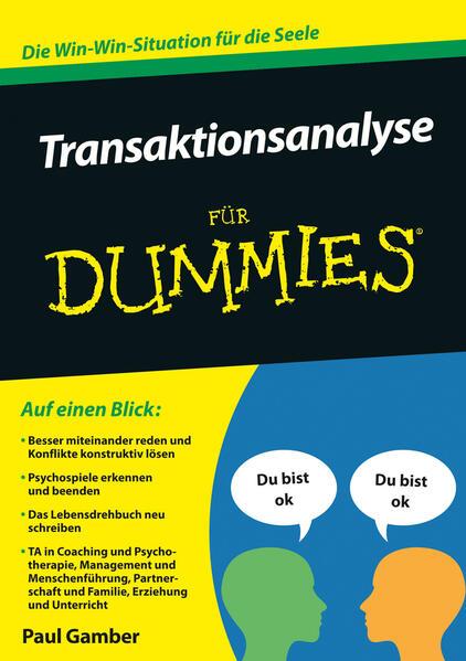 Transaktionsanalyse für Dummies als Buch