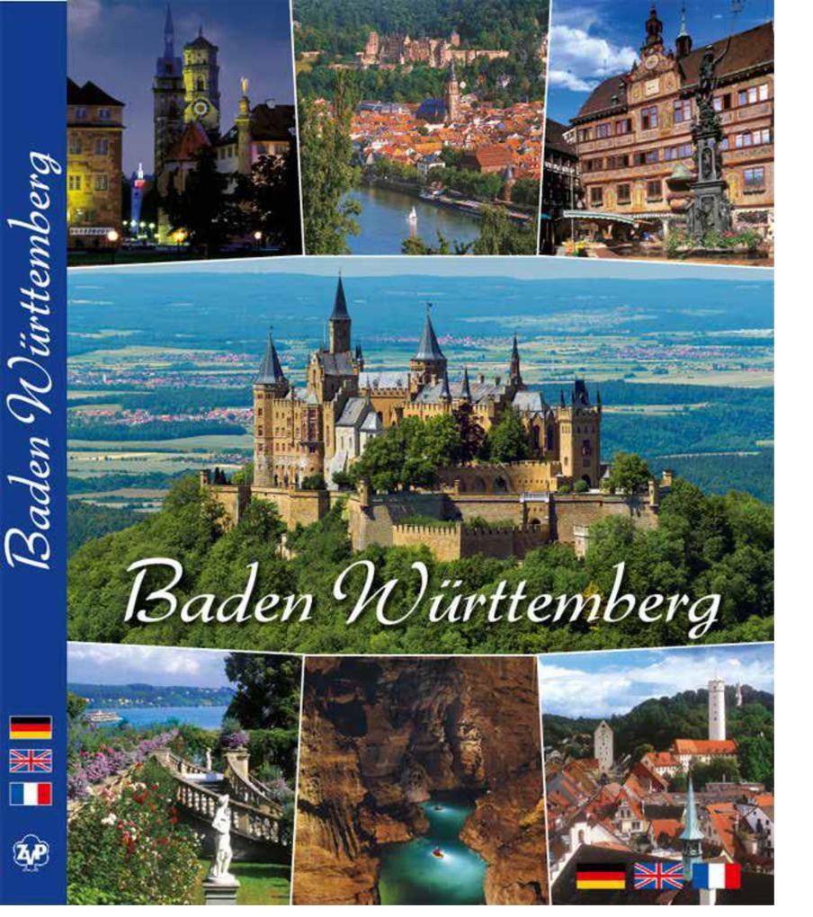 Baden-Württemberg im Farbbild als Buch