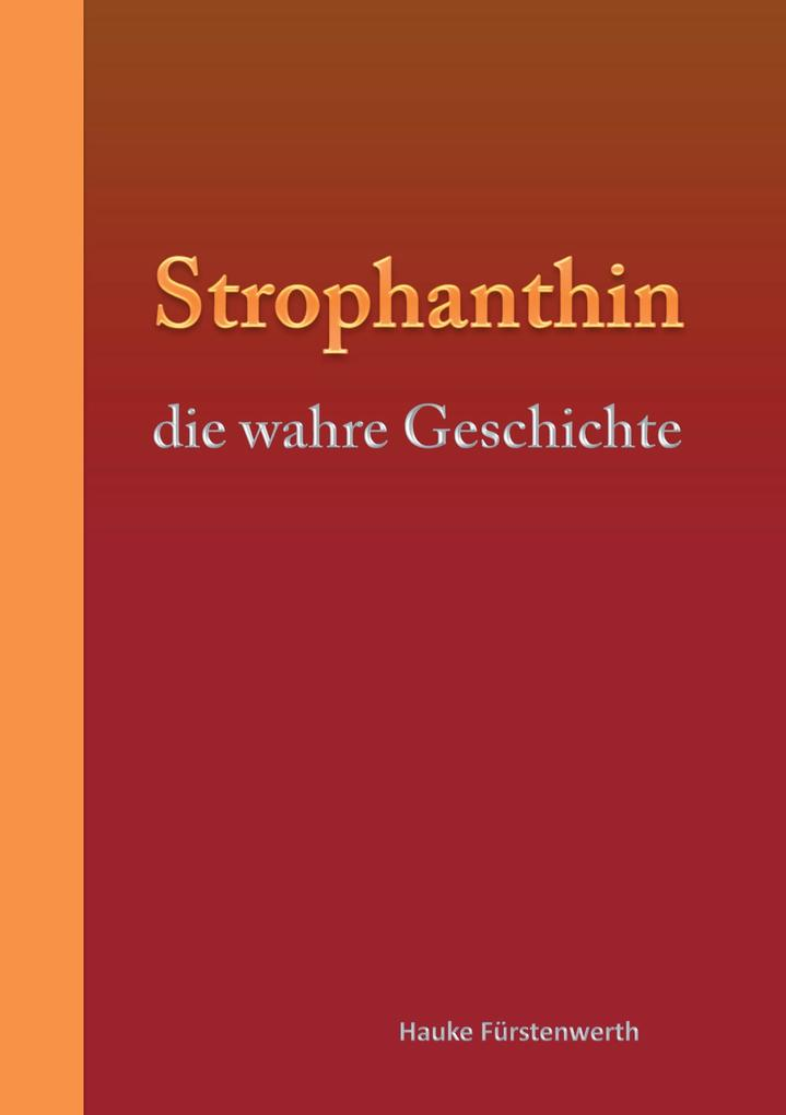 Strophanthin als Buch